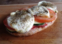 Quick Pitta Pizza