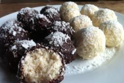 Coconut Chocolate Snowballs