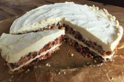 Raw, Vegan Cheesecake